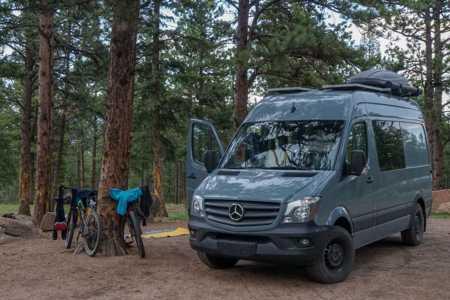 Luxury Sprinter Van w/ Gear Garage | RVezy