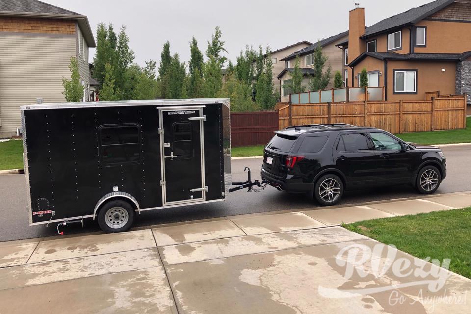 6x12 Cargo Conversion in Calgary, Alberta