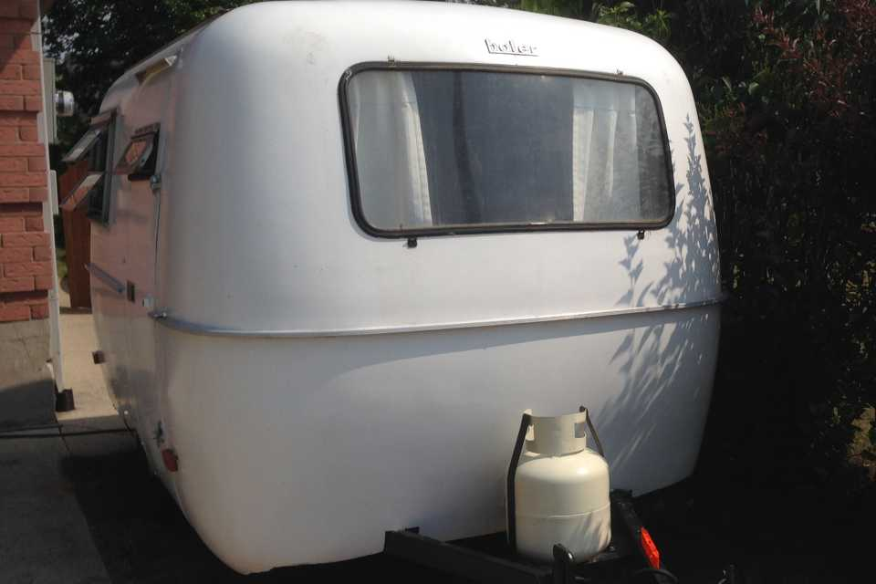 Classic Boler in Port-Elgin, Ontario