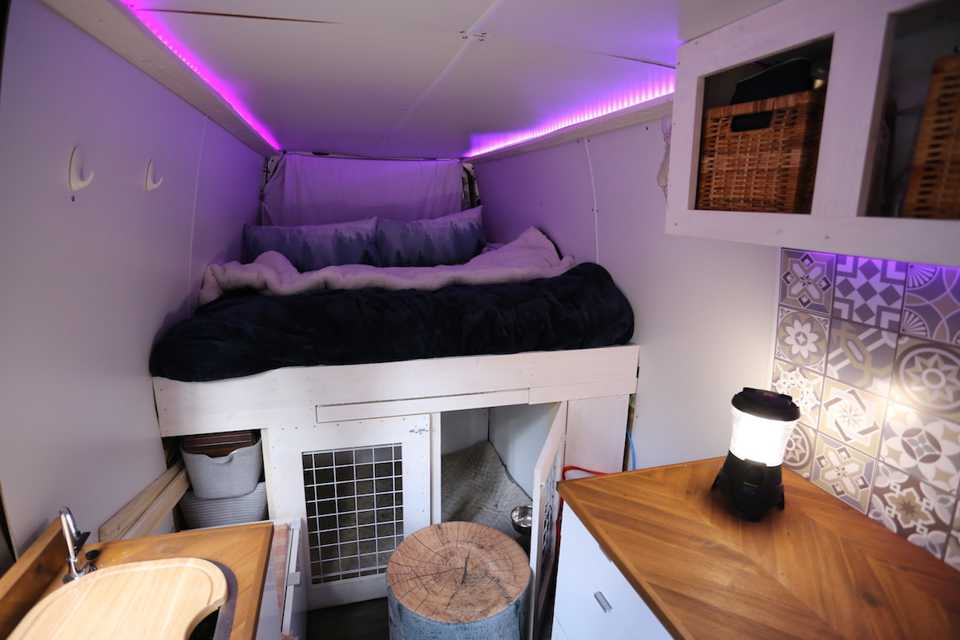 The chic modern Sprinter campervan you've been searching for in Calgary, Alberta