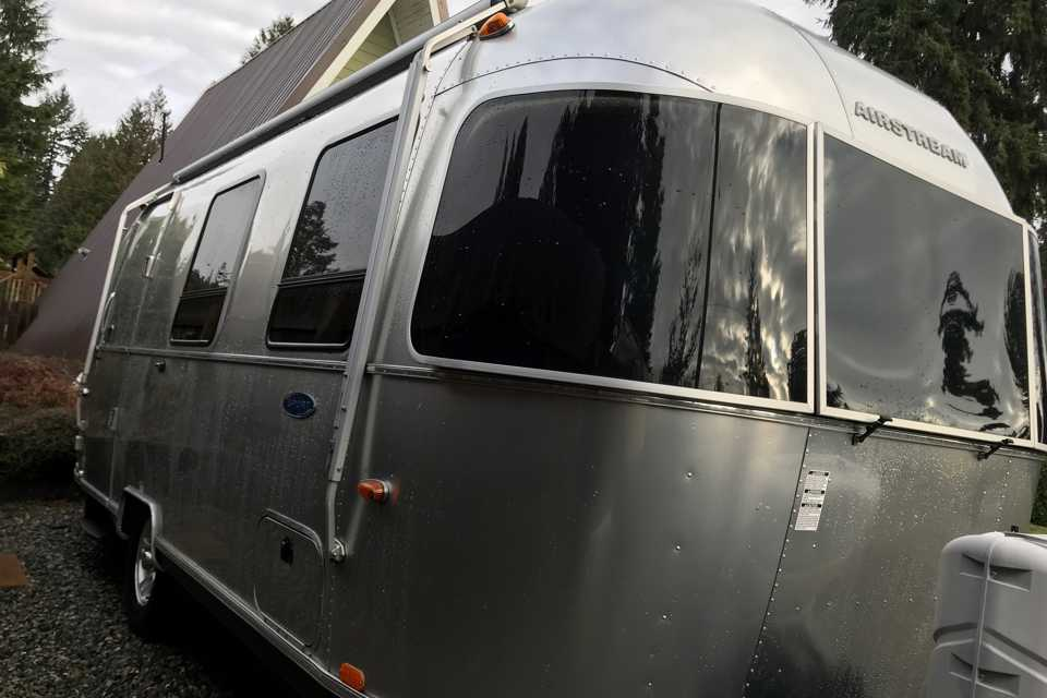 Probably not for you: Airstream  in Kaleden, British Columbia