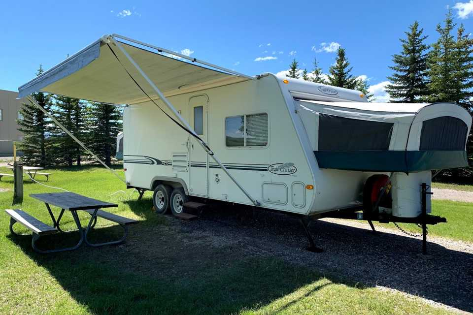 Family Friendly Glamping in Airdrie, Alberta