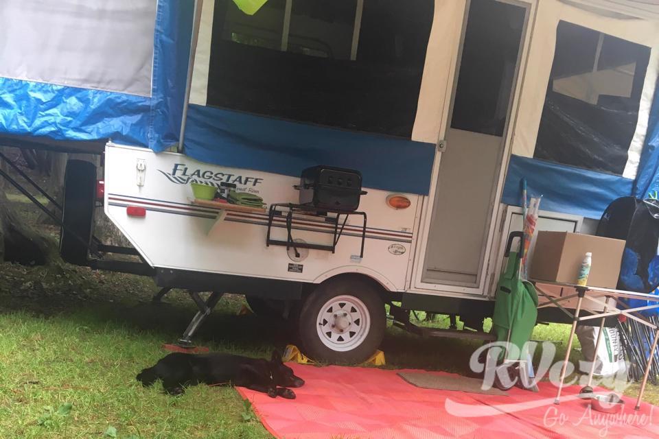 Cozy camper in Belleville, Ontario